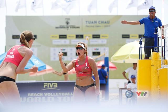 Ảnh: Những khoảnh khắc ấn tượng tại giải bóng chuyền bãi biển nữ thế giới Tuần Châu - Hạ Long 2019 ngày 11/5 - Ảnh 5.