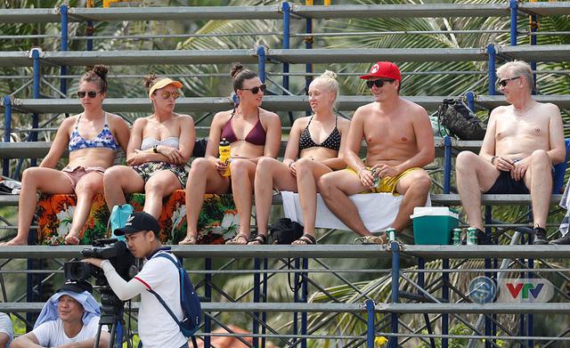 Ảnh: Những khoảnh khắc ấn tượng tại giải bóng chuyền bãi biển nữ thế giới Tuần Châu - Hạ Long 2019 ngày 11/5 - Ảnh 12.