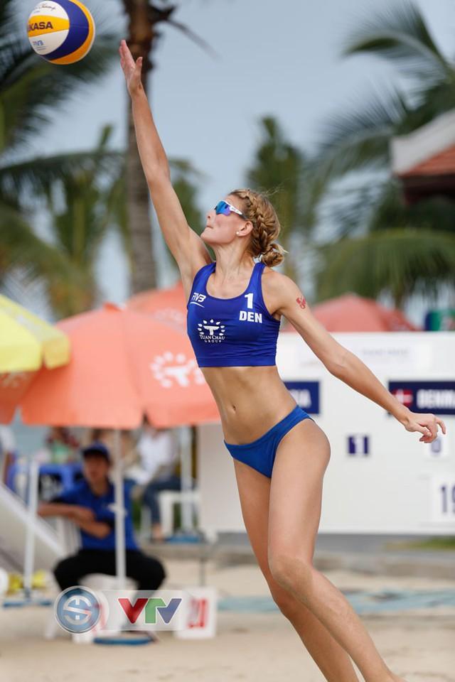 Ảnh: Những khoảnh khắc ấn tượng tại giải bóng chuyền bãi biển nữ thế giới Tuần Châu - Hạ Long 2019 ngày 11/5 - Ảnh 15.