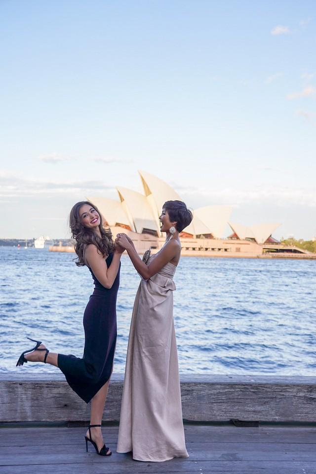 Hhen Niê xinh đẹp hút mắt khi hội ngộ Hoa hậu Hoàn vũ Australia 2018  - Ảnh 3.