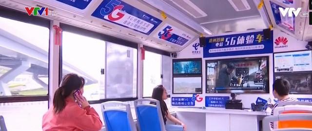 Xe bus kết nối mạng 5G tại Trung Quốc - Ảnh 1.