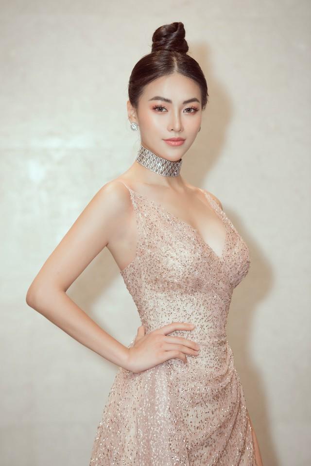Hoa hậu Phương Khánh giảm 10kg khoe vòng eo 54cm - Ảnh 4.