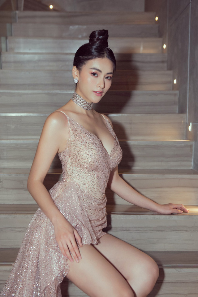 Hoa hậu Phương Khánh giảm 10kg khoe vòng eo 54cm - Ảnh 10.
