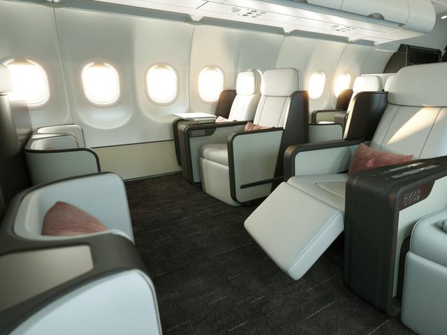 Hé lộ hình ảnh sang chảnh bên trong máy bay Airbus của Four Seasons - Ảnh 1.