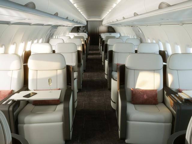 Hé lộ hình ảnh sang chảnh bên trong máy bay Airbus của Four Seasons - Ảnh 6.