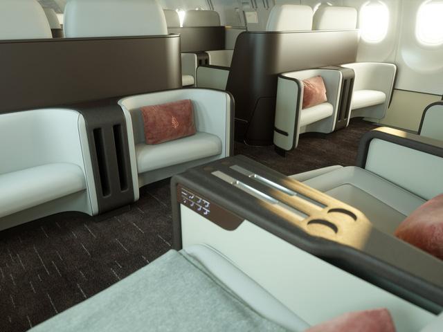 Hé lộ hình ảnh sang chảnh bên trong máy bay Airbus của Four Seasons - Ảnh 5.