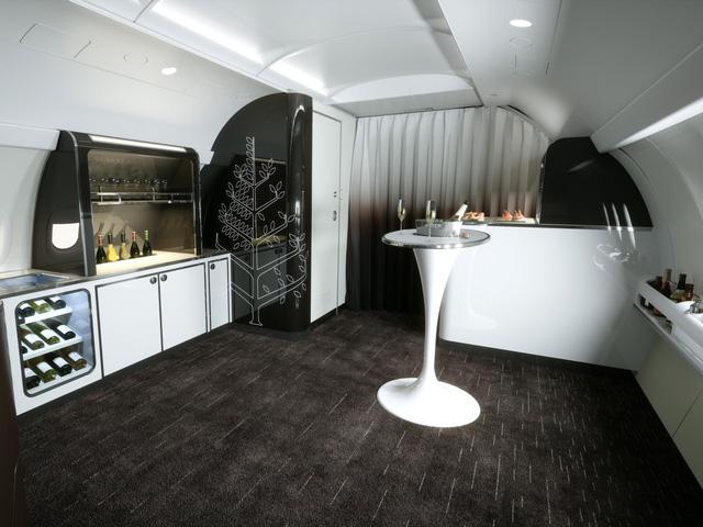 Hé lộ hình ảnh sang chảnh bên trong máy bay Airbus của Four Seasons - Ảnh 4.