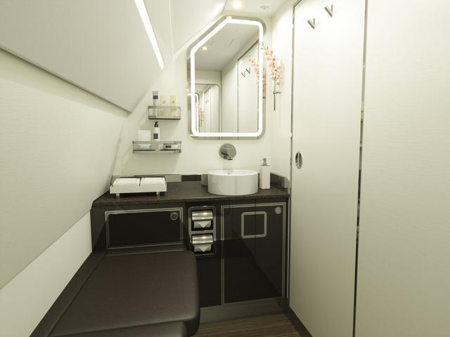 Hé lộ hình ảnh sang chảnh bên trong máy bay Airbus của Four Seasons - Ảnh 3.