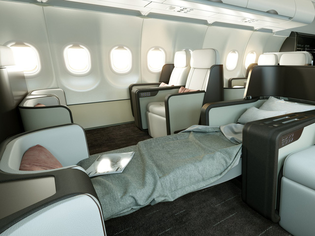 Hé lộ hình ảnh sang chảnh bên trong máy bay Airbus của Four Seasons - Ảnh 2.