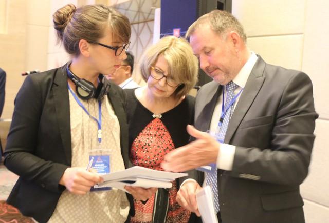 Khai mạc trọng thể Hội nghị ASEM về thúc đẩy phát triển bao trùm về kinh tế và xã hội tại châu Á và châu Âu - Ảnh 1.