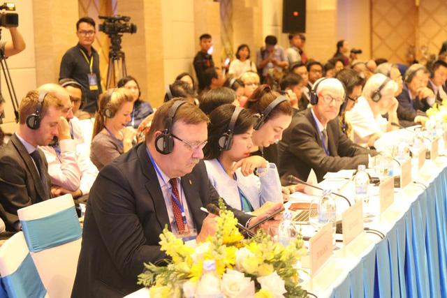 Khai mạc trọng thể Hội nghị ASEM về thúc đẩy phát triển bao trùm về kinh tế và xã hội tại châu Á và châu Âu - Ảnh 2.