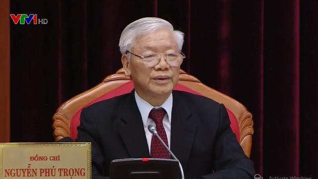 Tổng Bí thư, Chủ tịch nước Nguyễn Phú Trọng khai mạc Hội nghị Trung ương 10, khóa XII - ảnh 1