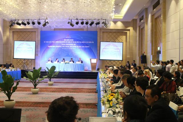 Khai mạc trọng thể Hội nghị ASEM về thúc đẩy phát triển bao trùm về kinh tế và xã hội tại châu Á và châu Âu - Ảnh 3.