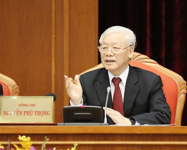 Khai mạc trọng thể Hội nghị lần thứ 10 Ban Chấp hành Trung ương Đảng Khóa XII - Ảnh 1.