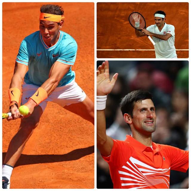 Djokovic, Nadal và Federer giành quyền vào tứ kết Rome Masters 2019 - Ảnh 1.