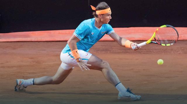 Rome Masters 2019: Rafael Nadal và Schwartzman cùng Tsitsipas giành quyền vào bán kết - Ảnh 3.