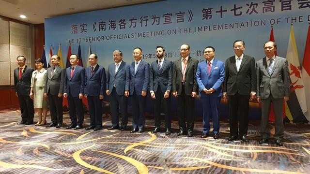 Hội nghị Quan chức cao cấp ASEAN-Trung Quốc về thực hiện Tuyên bố về ứng xử của các bên ở Biển Đông (DOC) lần thứ 17 - Ảnh 2.