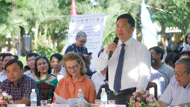 Trao giải cuộc thi Đại sứ học đường trong Phòng chống thiên tai và thích ứng biến đổi khí hậu - Ảnh 4.