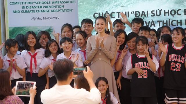 Trao giải cuộc thi Đại sứ học đường trong Phòng chống thiên tai và thích ứng biến đổi khí hậu - Ảnh 9.