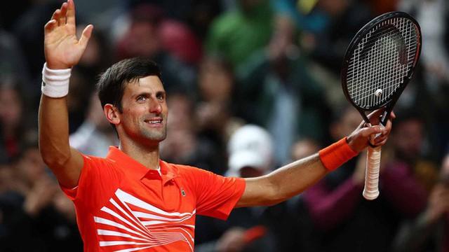 Ngược dòng nghẹt thở trước Del Potro, Djokovic vào bán kết Rome Masters 2019 - Ảnh 2.