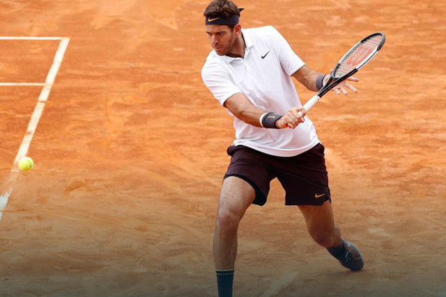 Ngược dòng nghẹt thở trước Del Potro, Djokovic vào bán kết Rome Masters 2019 - Ảnh 1.