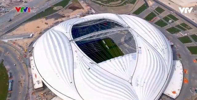 Khánh thành sân vận động đầu tiên cho World Cup 2022 - Ảnh 1.