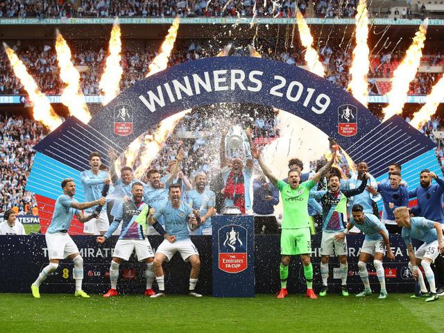 Kết quả bóng đá châu Âu sáng 19/5: Man City giành cúp FA, Bayern Munich đăng quang ngôi vô địch Bundesliga - Ảnh 1.