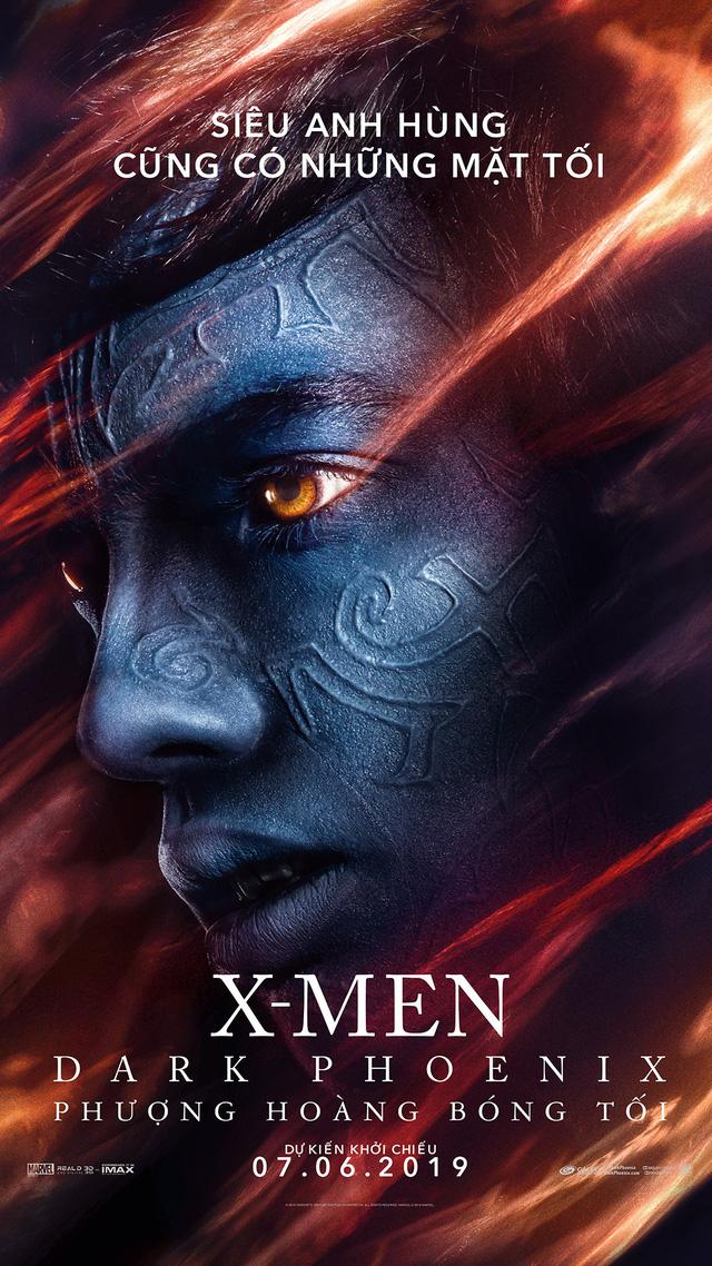X-Men: Dark Phoenix tung poster khủng hé lộ ngày tàn của các dị nhân - Ảnh 6.