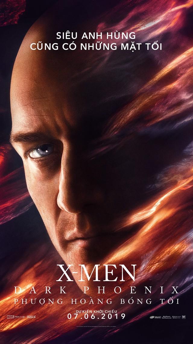 X-Men: Dark Phoenix tung poster khủng hé lộ ngày tàn của các dị nhân - Ảnh 2.