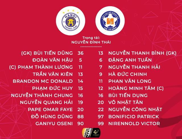 Vòng 10 V.League 2019, CLB Hà Nội 3-2 SHB Đà Nẵng: 3 điểm nhọc nhằn cho đội chủ nhà - Ảnh 2.