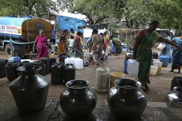 600 triệu người dân Ấn Độ thiếu nước sinh hoạt - Ảnh 4.