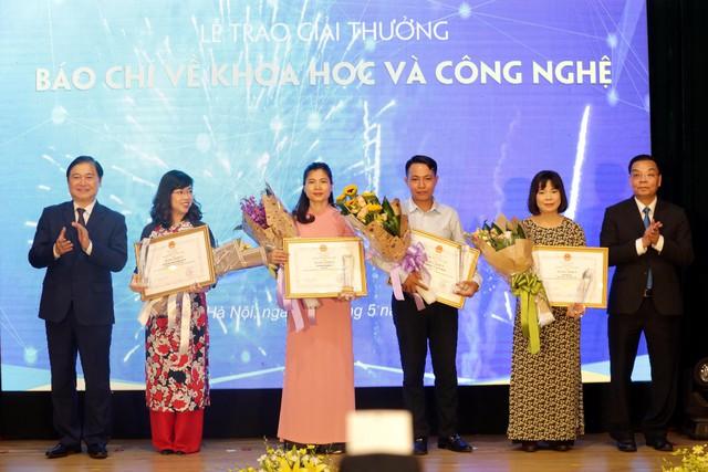 Đài Truyền hình Việt Nam nhận 2 giải thưởng báo chí về Khoa học và Công nghệ năm 2018 - Ảnh 4.