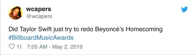 Taylor Swif bị buộc tội bắt chước Beyoncé trong lễ trao giải Billboard Music Award - Ảnh 2.