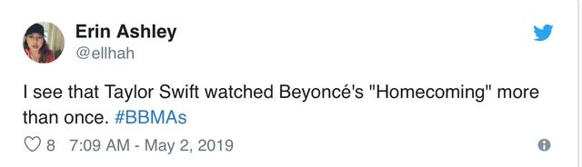 Taylor Swif bị buộc tội bắt chước Beyoncé trong lễ trao giải Billboard Music Award - Ảnh 3.