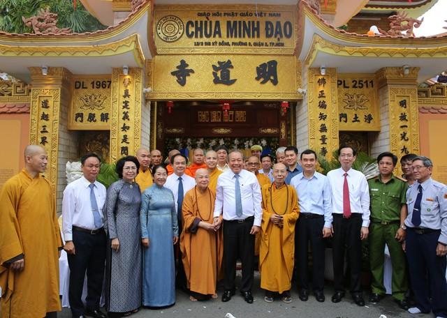 PTTg Trương Hòa Bình chúc mừng đại lễ Phật đản tại TP.HCM - Ảnh 5.