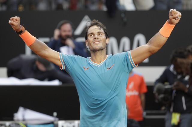 Nadal vô địch Rome Masters: Dấu chấm hết cho Federer tại Roland Garros? - Ảnh 1.