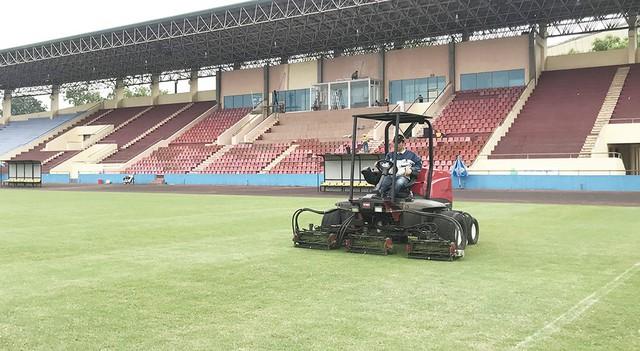 Trận giao hữu giữa U23 Việt Nam và U23 Myanmar sẽ diễn ra trên SVĐ Việt Trì, tỉnh Phú Thọ - Ảnh 1.