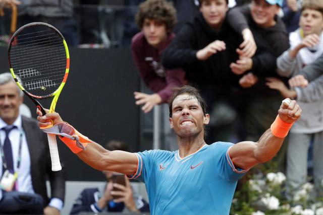 Thắng kịch tính Djokovic, Nadal lên ngôi xứng đáng tại Rome Masters 2019 - Ảnh 2.