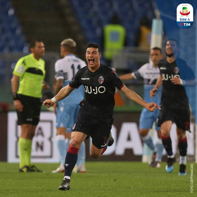 Vòng 37 Serie A: Lazio và Bologna cầm hòa kịch tính - Ảnh 2.