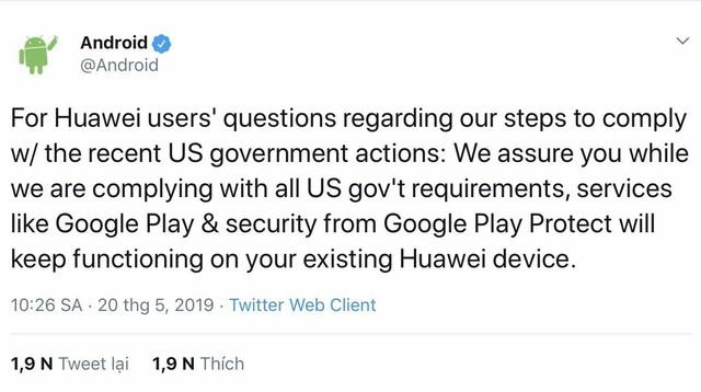 Điện thoại Huawei liệu có bị hoá thành cục gạch? - Ảnh 1.