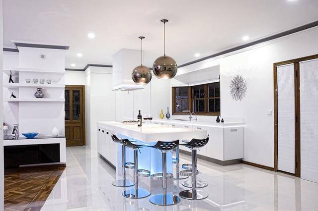 Mẫu căn bếp hiện đại cho gia đình trẻ - Ảnh 13.