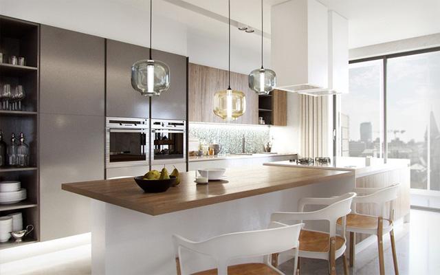 Mẫu căn bếp hiện đại cho gia đình trẻ - Ảnh 6.