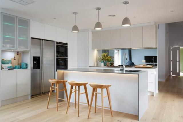 Mẫu căn bếp hiện đại cho gia đình trẻ - Ảnh 10.