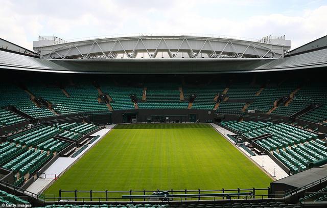 Các tay vợt hào hứng trải nghiệm mái che tại sân số 1 của Wimbledon - Ảnh 4.