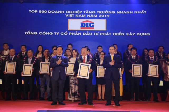 Tập đoàn DIC đạt top 20 doanh nghiệp bất động sản tăng trưởng nhanh nhất Việt Nam 2019 - Ảnh 1.