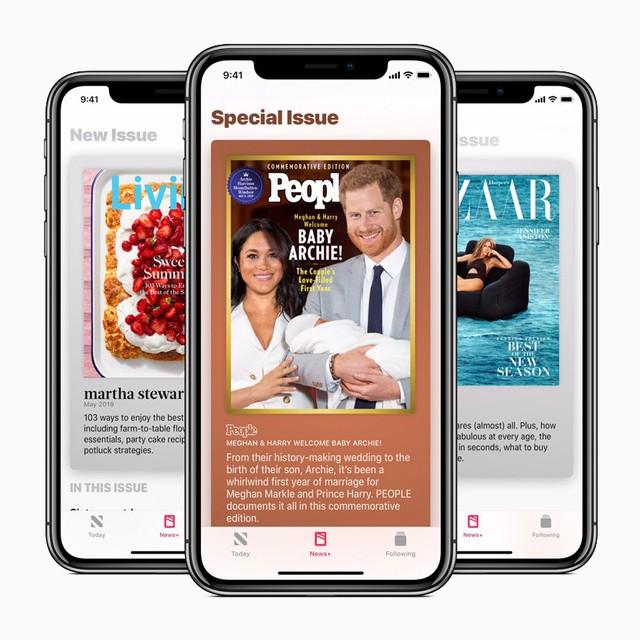 Apple News+ cung cấp bìa độc quyền từ hàng trăm nhà xuất bản - Ảnh 1.