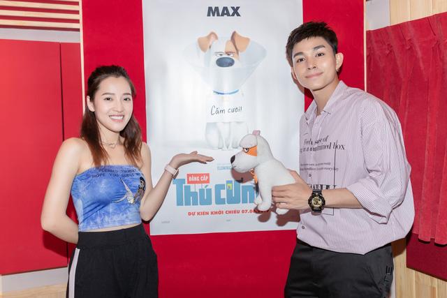 Jun Phạm kết đôi cùng Khả Như và Puka lồng tiếng phim hoạt hình Biệt đội đẳng cấp thú cưng 2 - Ảnh 2.