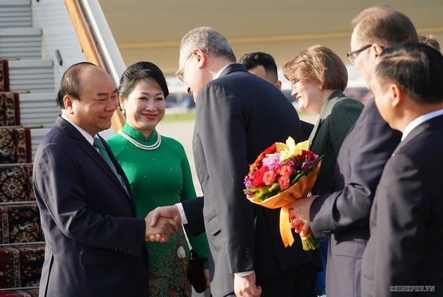 Lễ đón chính thức Thủ tướng Nguyễn Xuân Phúc tại Thủ đô Moscow (Nga) - Ảnh 1.