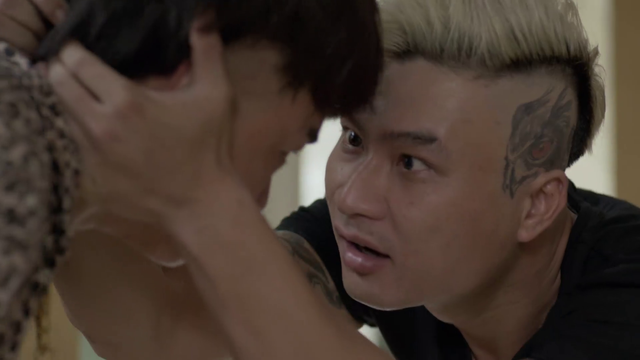 Mê cung - Tập 9: Ngáo chúa Tiến Thịnh đập phá tivi, Lam Anh bị băng nhóm Cường Lâm bắt cóc? - ảnh 2