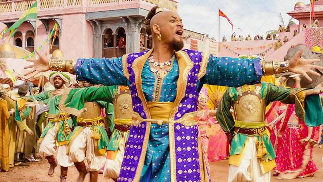 """Will Smith từng suýt từ chối vai diễn Thần đèn trong """"Aladdin"""" phiên bản điện ảnh - Ảnh 1."""